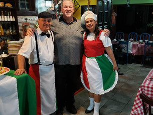 A Noite Italiana foi um sucesso no Pé de Moleque