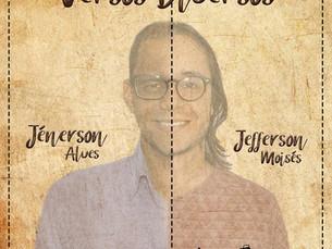 Jefferson Moisés e Jénerson Alves gravam CD de poesias e lançamento será através de live