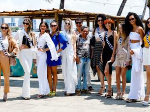 Candidatas ao Miss Universo Pernambuco 2021 cumprem agenda de eventos sociais