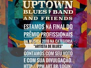 Uptown Blues Band, únicos representantes do Nordeste na final do Prêmio Profissionais da Musica 2018