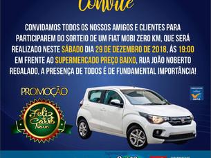 Amanhã sai o ganhador da Promoção Feliz de Carro Novo do Grupo Lemos