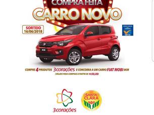Promoção Compra Feita Sorteia Carro Novo
