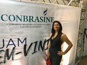 Nutricionista Riso Calazans participa do CONBRASINE