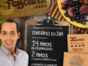 Jornalista Rodrigo Loureiro promove Feijoada em Natal