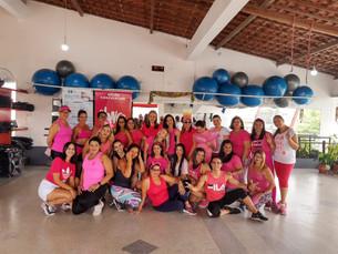 Academia Corpo e Alma apoia a campanha Outubro Rosa
