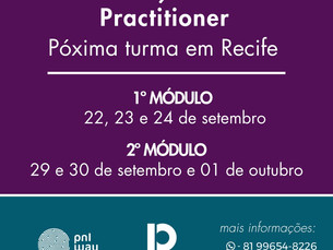 Formação PNL Practitioner com Carolina Maranhão