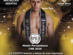 Mister Pernambuco CNB 2020, inscrições abertas
