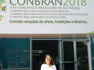 Nutri Riso Calazans participa do CONBRAN 2018 - XXV Congresso Brasileiro de Nutrição
