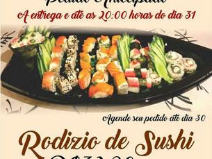 Rodízio de Sushi no China Taiwan