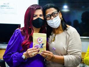 Ester Gomes participa do Encontro de Gestoras Municipais de Políticas das Mulheres do Agreste