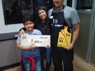 Com a receita 'Ovos', Eudes Cardoso vence o 'Egg Festival'