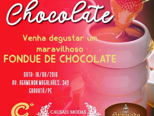 Tarde do Chocolate na CausaH Modas