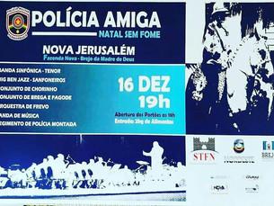 Polícia Amiga em Natal Sem Fome