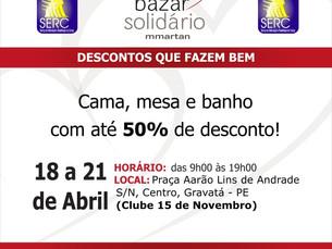 Bazar Solidário SERC/MMartan