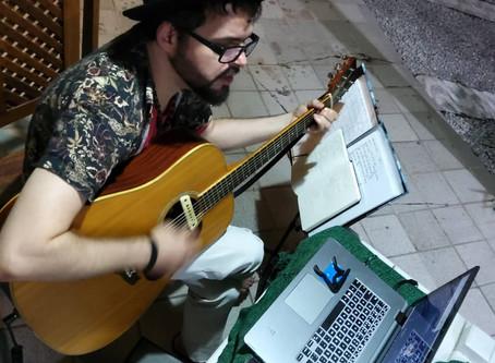 Bruno Souto e o GAMR, música e solidariedade