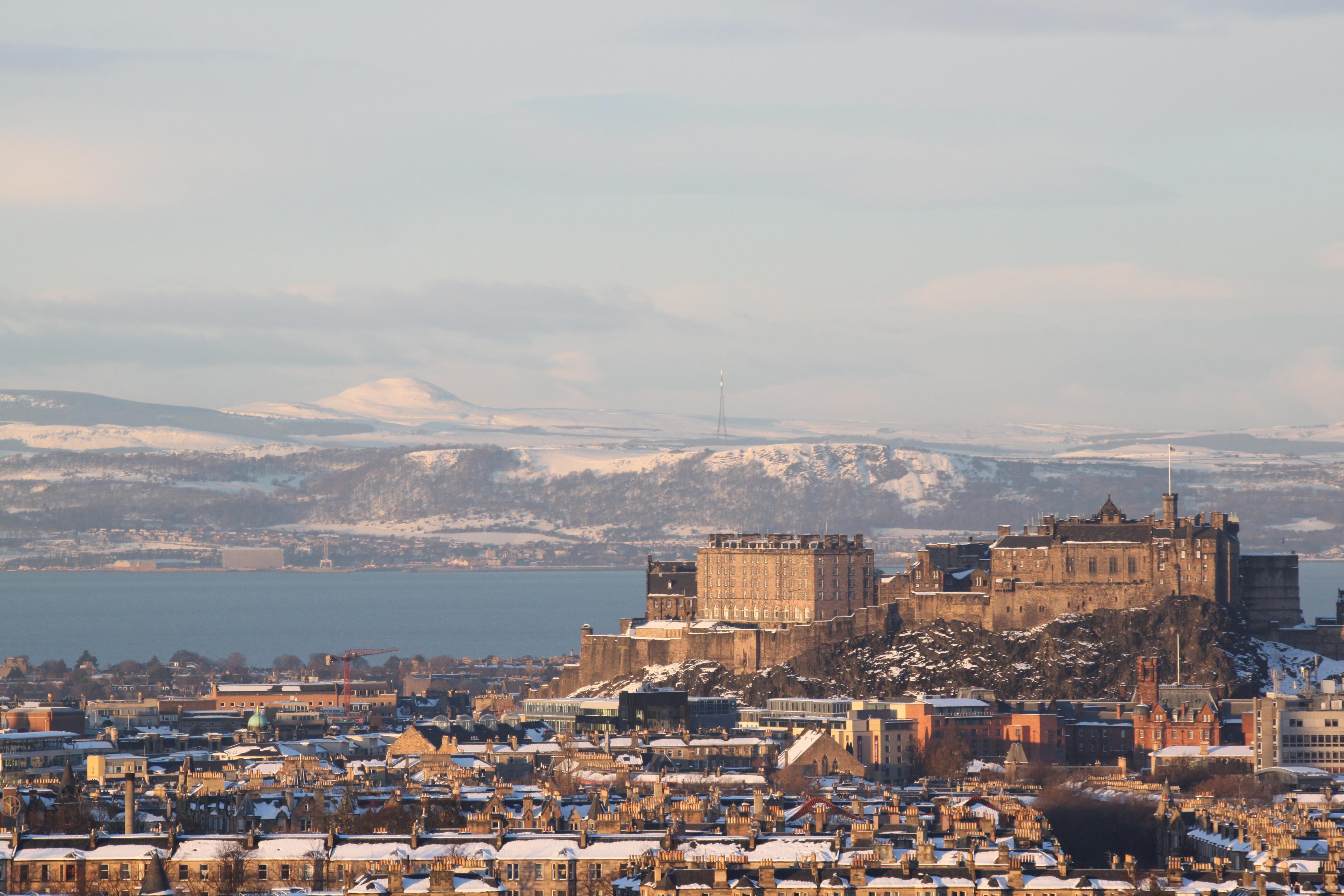 Edinburgh and Fife from Blackford