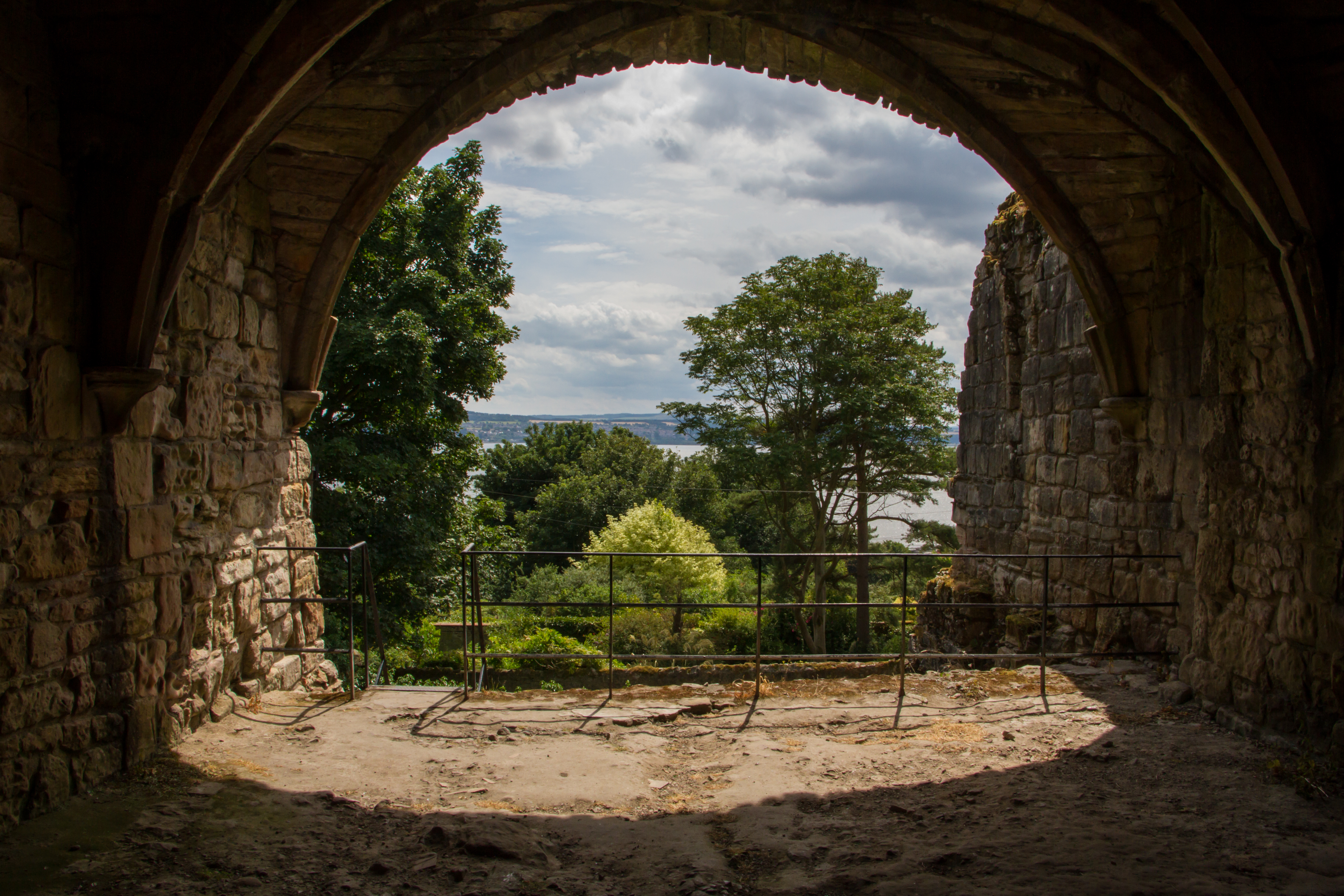 Forth View - Culross Abbey