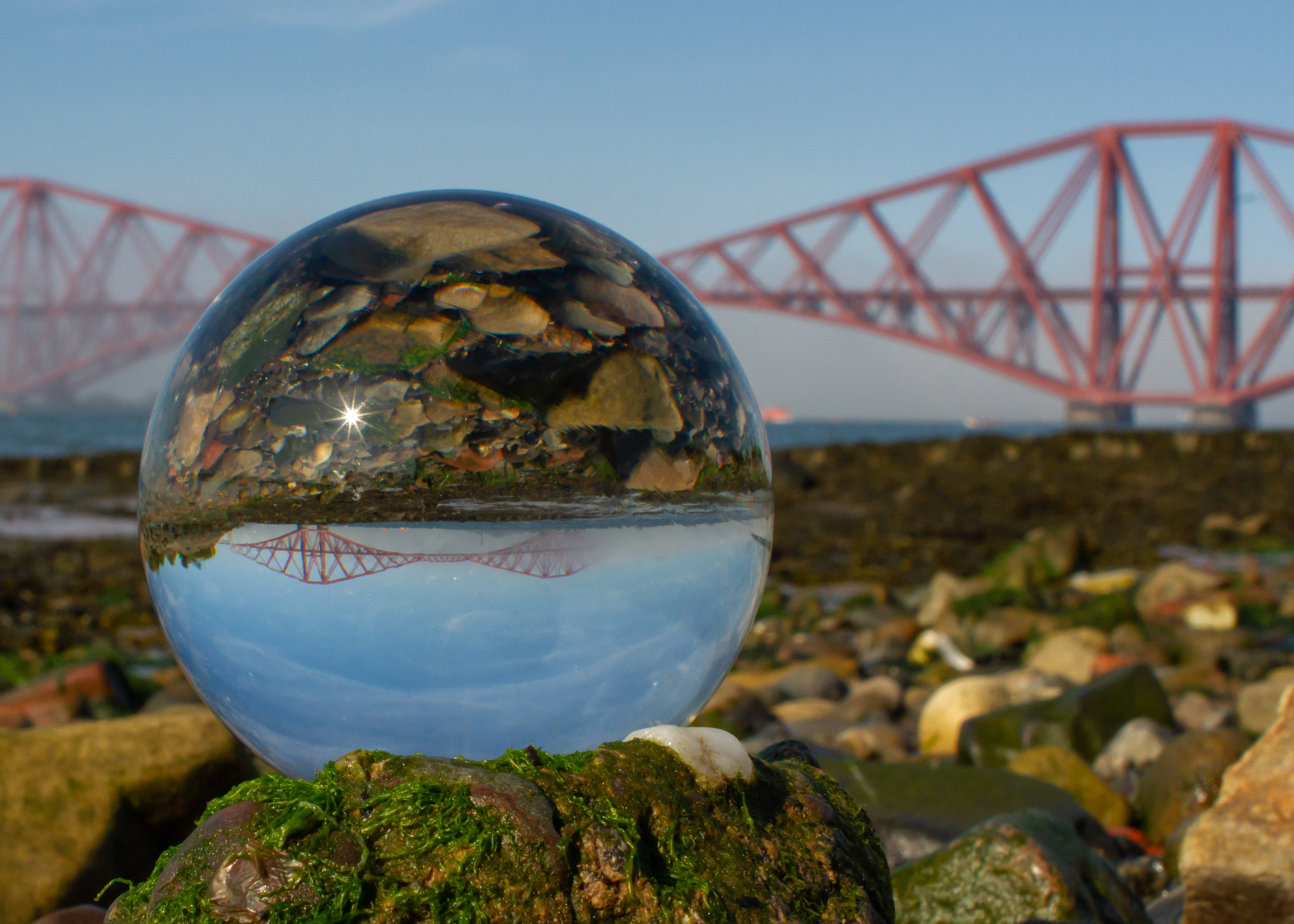 Forth Rail Bridge & Sphere