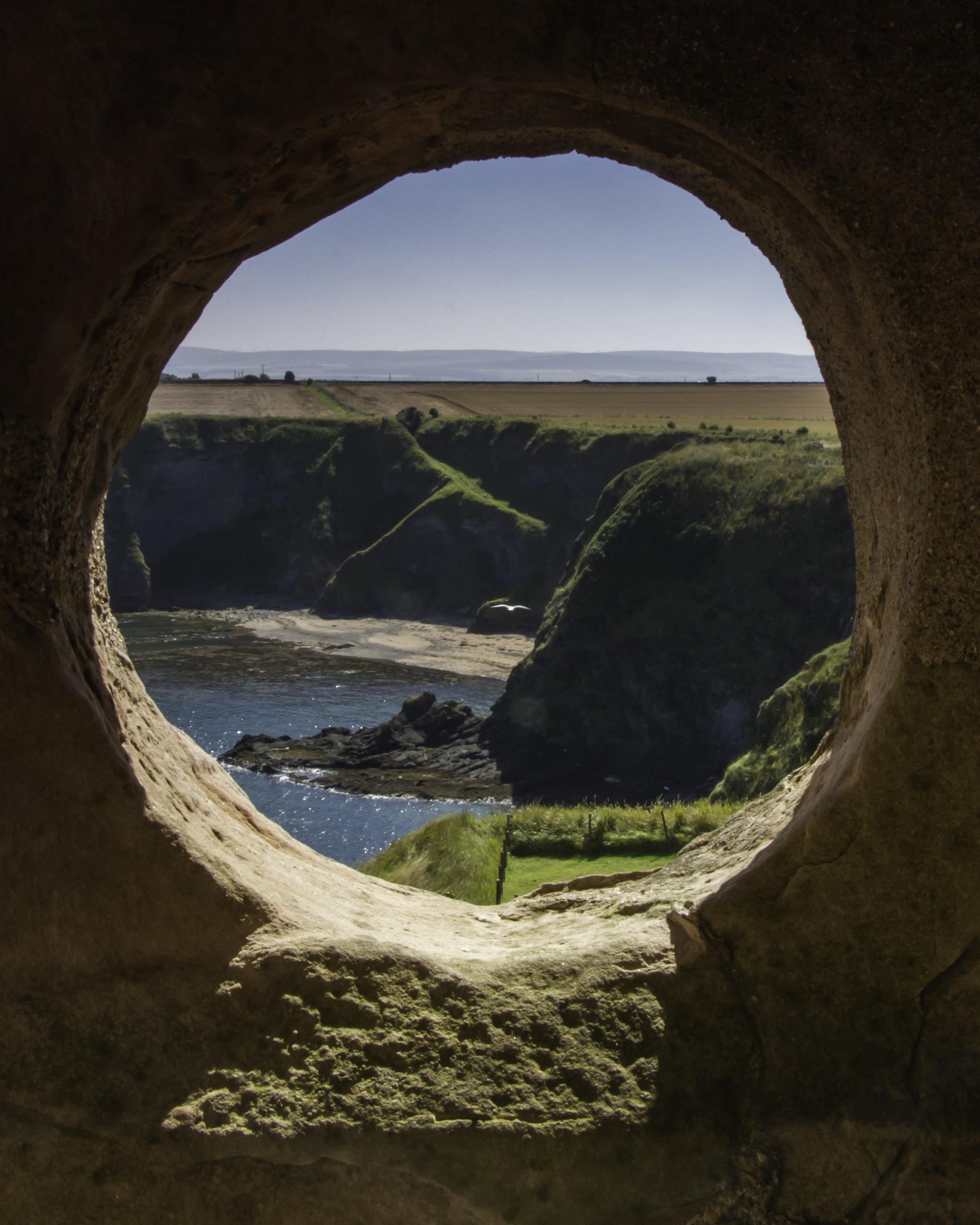 Stone Porthole
