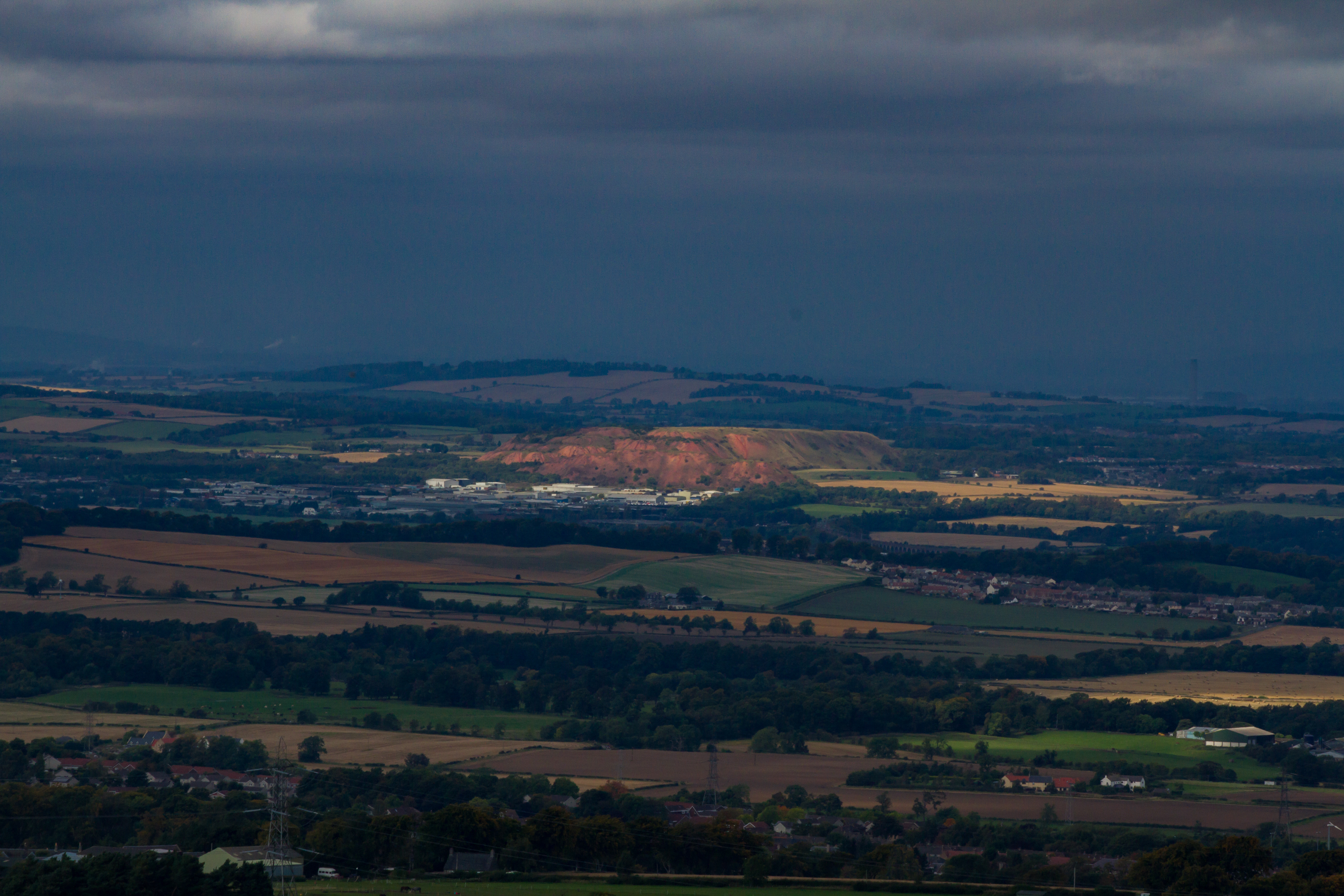 The Red Hills of Broxburn