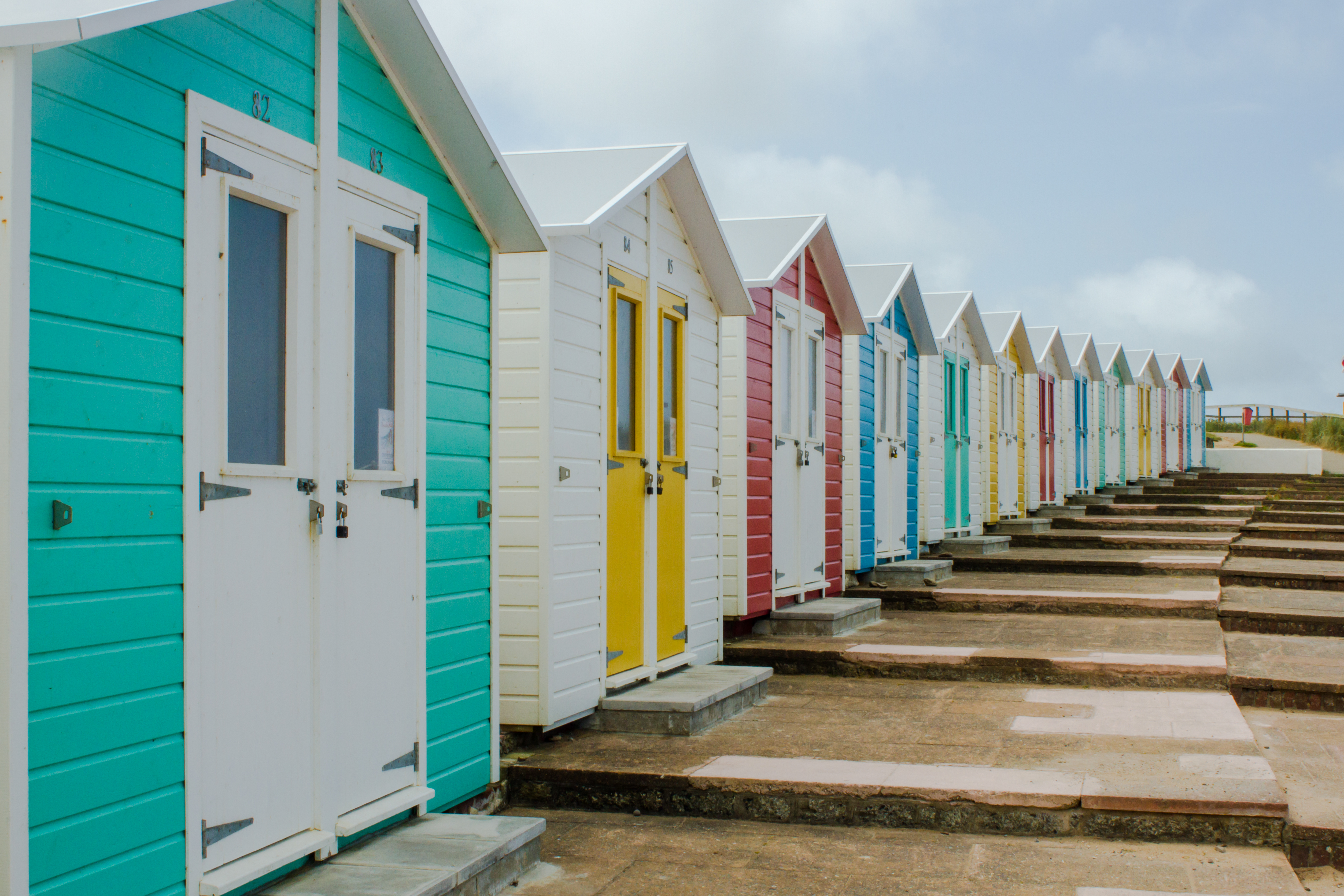 Beach Huts - Cornwall