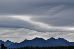 Waveform clouds, Vancouver Island
