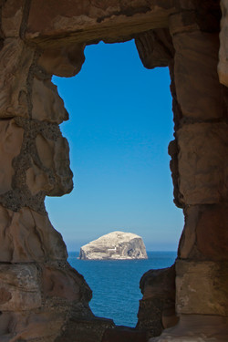 Window on the Bass Rock