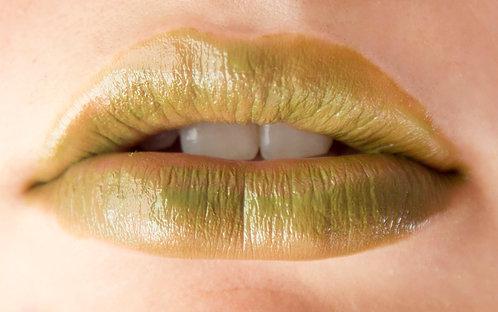 SWEET PEA OLIVE GREEN LIPSTICK 24PCS