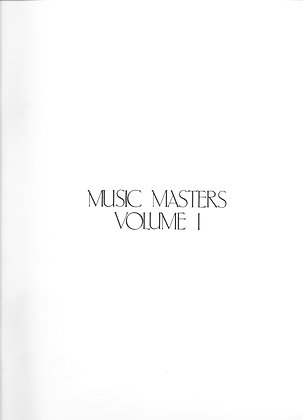Music Masters Vol 1