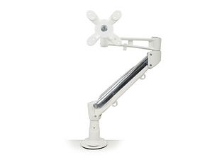 Modern White Monitor Arm