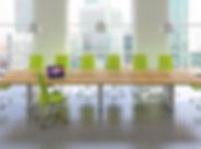 Fulcrum contemporary table
