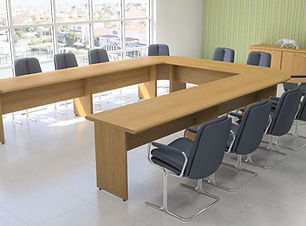 Fulcrum custom meeting table