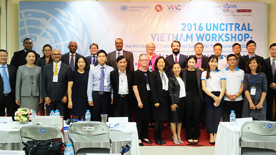 Liu & Partners at the 2016 UNCITRAL Vietnam Workshop - Vietnam's Accession to CISG
