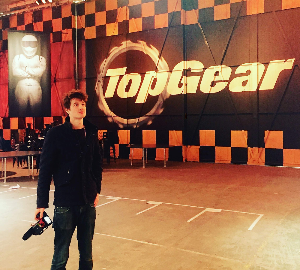 Videographer at Top Gear - loving filming some behind the scenes
