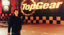 Filming at Top Gear