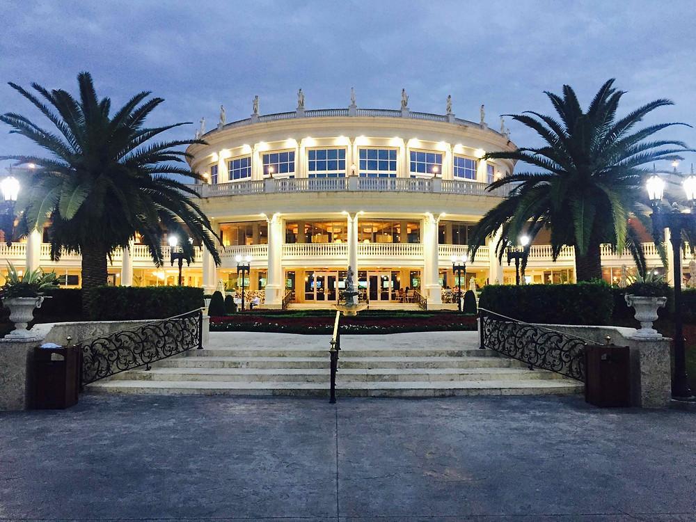 Big hotel for a big event video