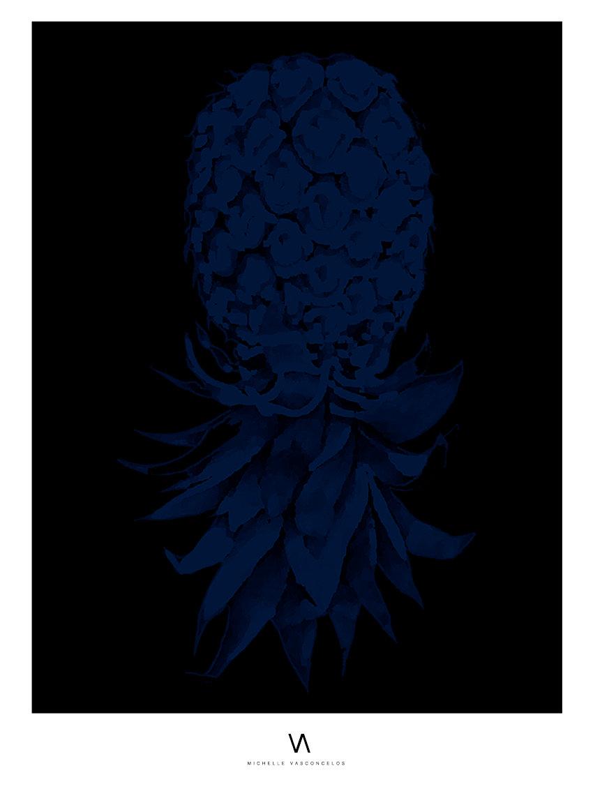 my-pineapple-art-print-michelle-vasconcelos