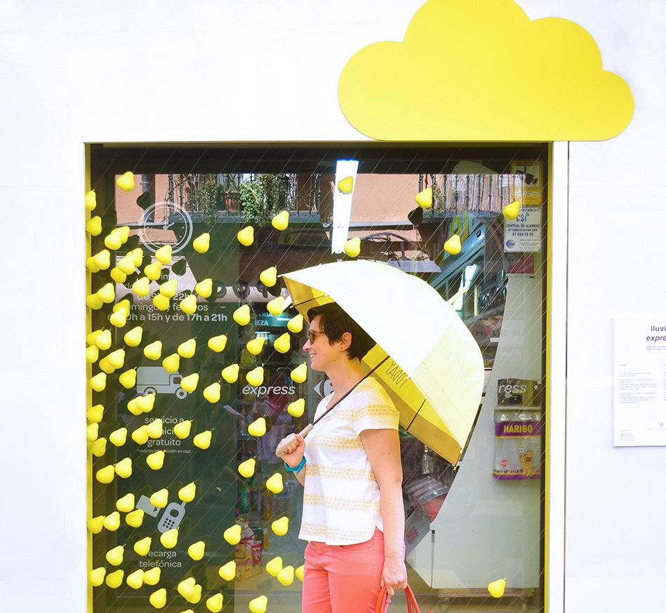 Instalación Artística Decoracción 2016 Carrefour Express Michelle Vasconcelos