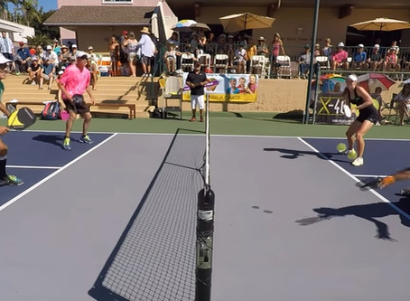 Pickleball Battle of the Sexes