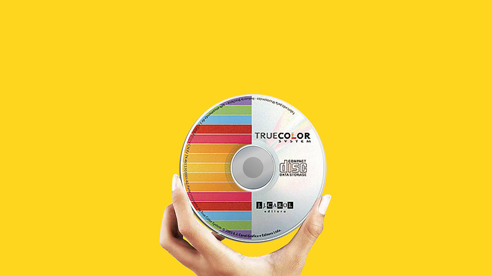 CD para calibragem de monitores - True Color System
