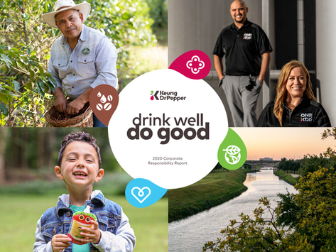 Keurig Dr Pepper Shares Commitment to Sustainability and Health