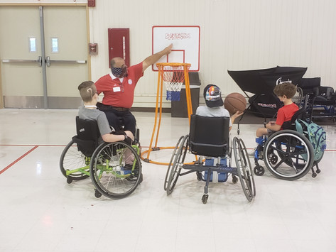 Grant Provides Sporting Equipment for Kids with Disabilities