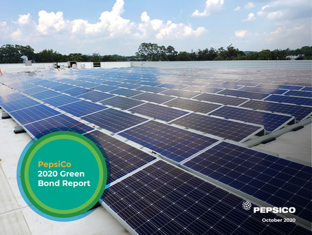 PepsiCo Recaps $1 Billion Green Bond Activity