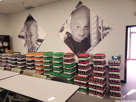 Coca-Cola Consolidated Donates Beverages to Columbus Children's Charity