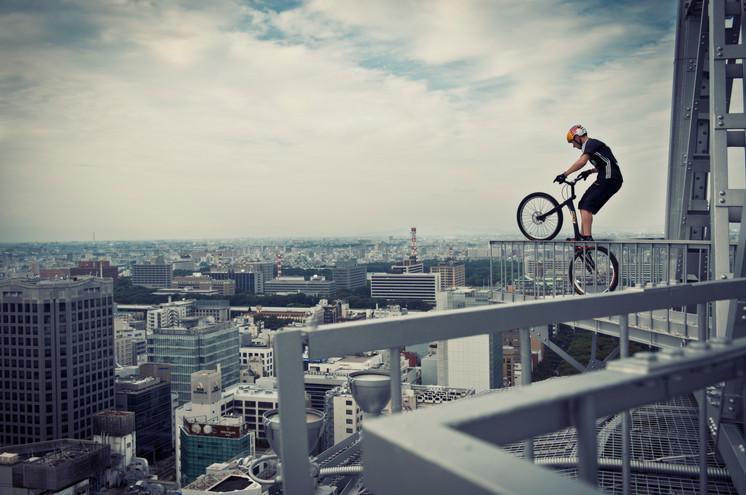 Kenny Balaey Above Nagoya City