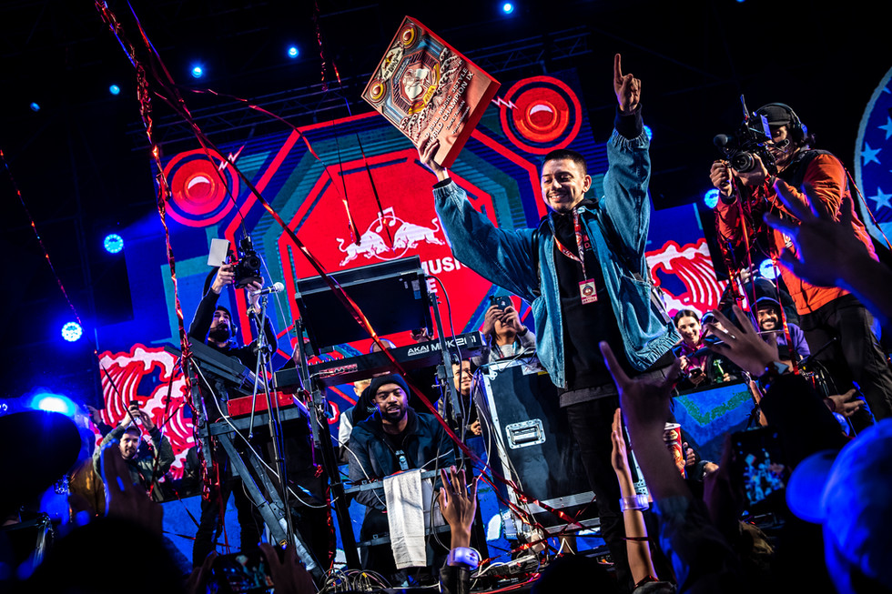 DJ Espinosa wins the Red Bull 3Style in Taiwan