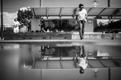Reflection of Edgar Omar