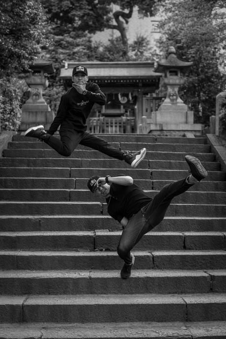 B-Boy Hong 10 and B-Boy Taisuke