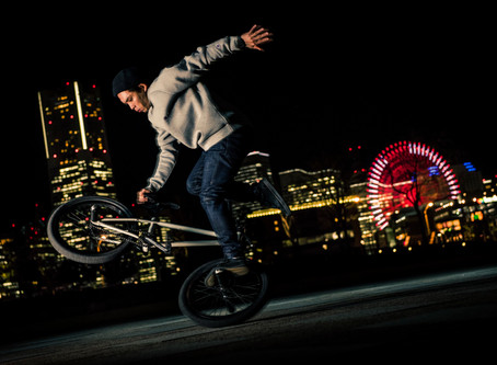 Night BMX in Yokohama