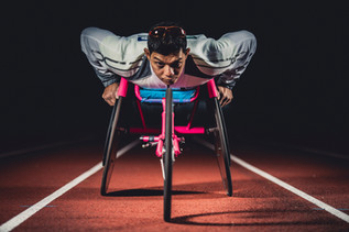 Wheelchair Olympic Athlete